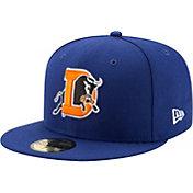 New Era Men's Durham Bulls 59Fifty Royal Authentic Hat