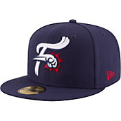 New Era Men's Reading Fightin Phils 59Fifty Navy Authentic Hat