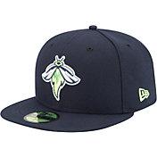 New Era Men's Columbia Fireflies 59Fifty Navy Authentic Hat