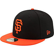 New Era Men's San Francisco Giants 59Fifty Alternate Black Authentic Hat
