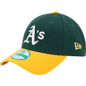 New Era Men's Oakland Athletics 9Forty Green Adjustable Hat