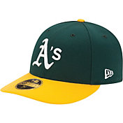 New Era Men's Oakland Athletics 59Fifty Home Green Low Crown Authentic Hat