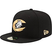 New Era Men's Charlotte Knights 59Fifty Black Authentic Hat