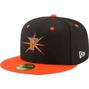 New Era Men's Frederick Keys 59Fifty Black/Orange Authentic Hat