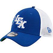 New Era Men's Lexington Legends 39Thirty Royal Stretch Fit Hat
