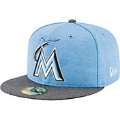 New Era Men's Miami Marlins 59Fifty 2017 Father's Day Authentic Hat
