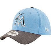 New Era Men's Miami Marlins 39Thirty 2017 Father's Day Flex Hat