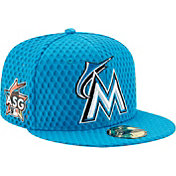 New Era Men's Miami Marlins 59Fifty 2017 Home Run Derby Authentic Hat