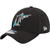 New Era Men's Miami Marlins 39Thirty Stretch Fit Hat