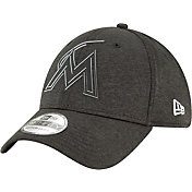 New Era Men's Miami Marlins 39Thirty Clubhouse Stretch Fit Hat