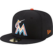 New Era Men's Miami Marlins 59Fifty PROLIGHT Batting Practice Fitted Hat