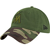 New Era Men's Miami Marlins 9Twenty 2017 Memorial Day Camo Adjustable Hat