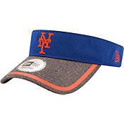 New Era Men's New York Mets Tinted Trim Adjustable Visor