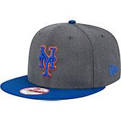 New Era Men's New York Mets 9Fifty Grey Adjustable Hat