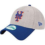 New Era Men's New York Mets 9Forty Grey Adjustable Hat