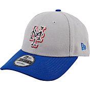 New Era Men's New York Mets Americana 9Forty Grey Adjustable Hat
