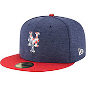 New Era Men's New York Mets 59Fifty 2017 July 4th Authentic Hat