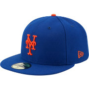 New Era Men's New York Mets 59Fifty Game Royal Authentic Hat