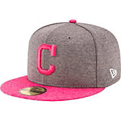 New Era Men's Cleveland Indians 59Fifty 2017 Mother's Day Authentic Hat