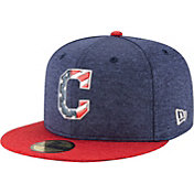New Era Men's Cleveland Indians 59Fifty 2017 July 4th Authentic Hat