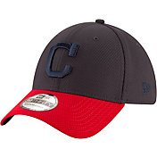 New Era Men's Cleveland Indians 39Thirty Tone Tech Stretch Fit Hat