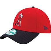 New Era Men's Los Angeles Angels 9Forty Red Adjustable Hat