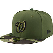 New Era Men's Washington Nationals 59Fifty 2017 Memorial Day Camo Authentic Hat