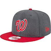 New Era Men's Washington Nationals 9Fifty Grey Adjustable Hat