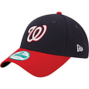 New Era Men's Washington Nationals 9Forty Navy Adjustable Hat
