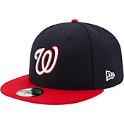 New Era Men's Washington Nationals 59Fifty Alternate Navy Authentic Hat