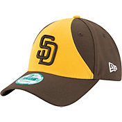 New Era Men's San Diego Padres 9Forty Brown/Yellow Adjustable Hat