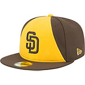 New Era Men's San Diego Padres 59Fifty Alternate Gold Authentic Hat