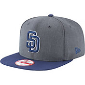New Era Men's San Diego Padres 9Fifty Grey Adjustable Hat