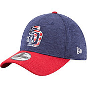 New Era Men's San Diego Padres 39Thirty 2017 July 4th Flex Hat