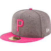New Era Men's Pittsburgh Pirates 59Fifty 2017 Mother's Day Authentic Hat