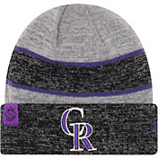 New Era Men's Colorado Rockies Clubhouse Knit Hat