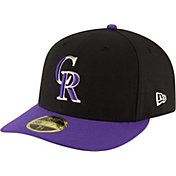 New Era Men's Colorado Rockies 59Fifty Alternate Black Low Crown Authentic Hat