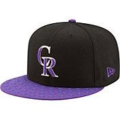 New Era Men's Colorado Rockies 9Fifty Black Adjustable Hat