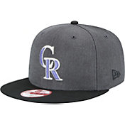New Era Men's Colorado Rockies 9Fifty Grey Adjustable Hat
