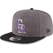 New Era Men's Colorado Rockies 9Fifty Grey Adjustable Hat
