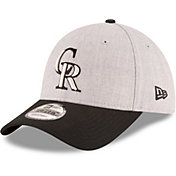 New Era Men's Colorado Rockies 9Forty Grey Adjustable Hat
