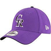 New Era Men's Colorado Rockies 9Forty Purple Adjustable Hat
