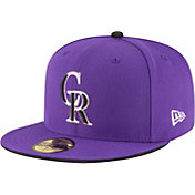 New Era Men's Colorado Rockies 59Fifty Alternate Purple Authentic Hat