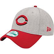 New Era Men's Cincinnati Reds 9Forty Grey Adjustable Hat