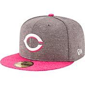 New Era Men's Cincinnati Reds 59Fifty 2017 Mother's Day Authentic Hat