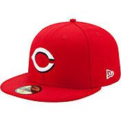 New Era Men's Cincinnati Reds 59Fifty Home Red Authentic Hat