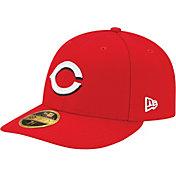 New Era Men's Cincinnati Reds 59Fifty Home Red Low Crown Authentic Hat