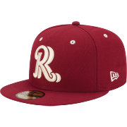 New Era Men's Frisco Rough Riders 59Fifty Red Authentic Hat