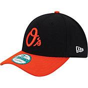 New Era Men's Baltimore Orioles 9Forty Black Adjustable Hat