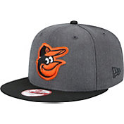 New Era Men's Baltimore Orioles 9Fifty Grey Adjustable Hat